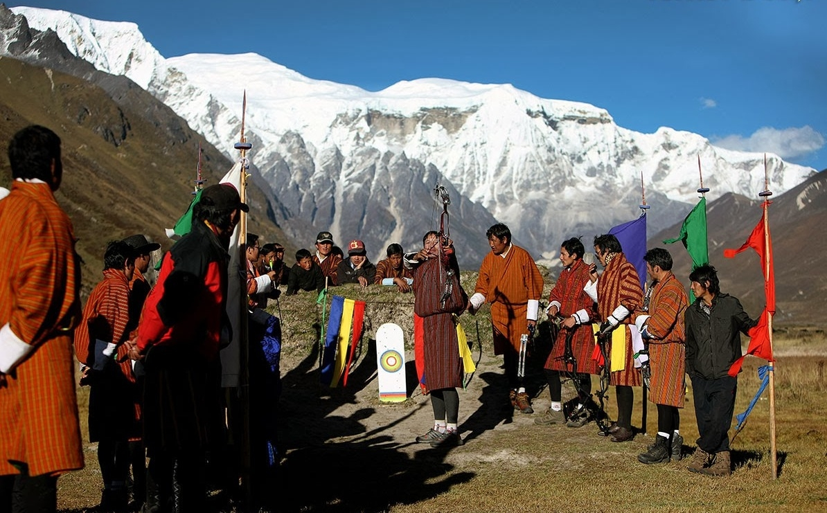 Archery is the National Game of Bhutan